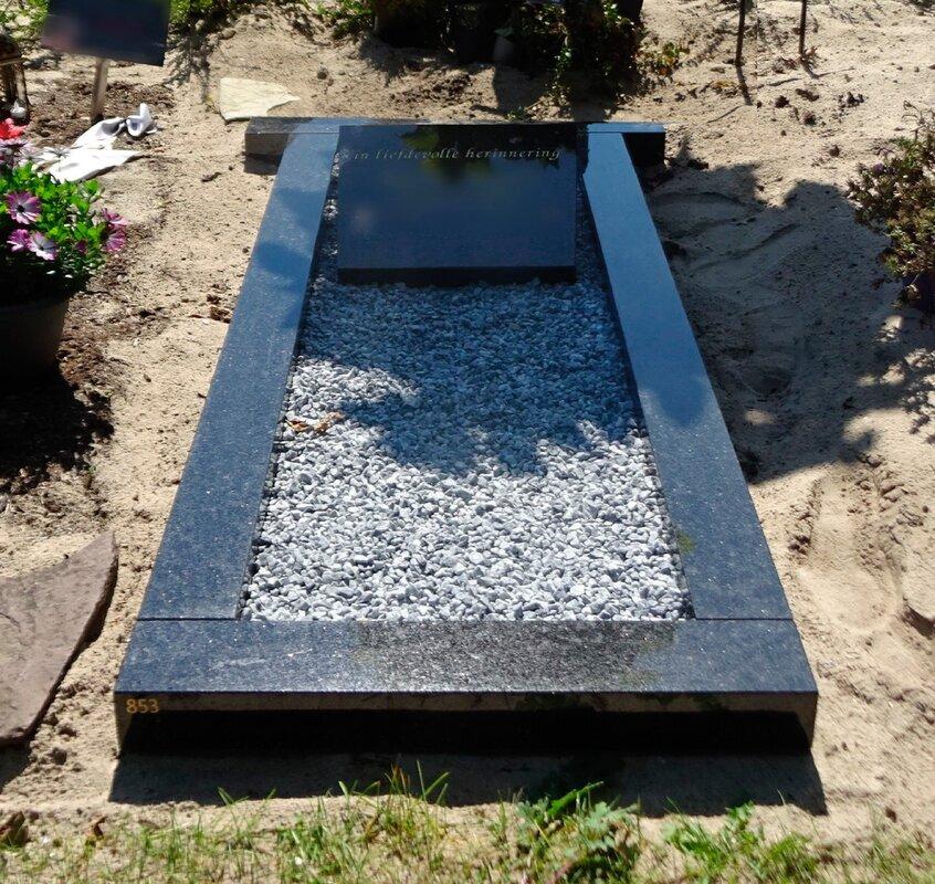 Grafsteen herinnering